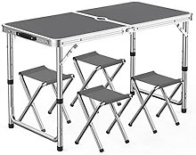 Outdoor table and chair set Outdoor portable table