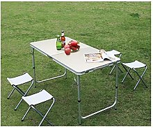 Outdoor table and chair set Portable outdoor
