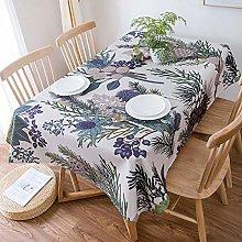 Outdoor tablecloths tablecloth Cotton linen