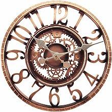 Outdoor Wall Clock, Garden Clock, Taodyans 12 in