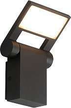 Outdoor wall lamp anthracite incl. LED IP54