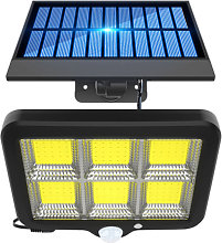 Outdoor Wall-Mounted COB LED Lamp Solar Powered