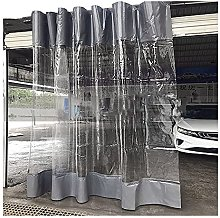 Outdoor Waterproof Curtain, Transparent Plastic