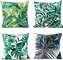 Outdoor waterproof pillowcase 4 pieces of tropical