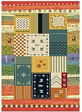 OUTGYM Vintage Rug Traditional Carpet with