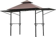 Outsunny 2.5 x 1.5m BBQ Tent Picnic Gazebo Shelter