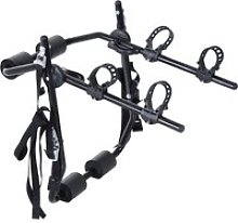 Outsunny 2 Bicycles Car Carrier Rack-Black