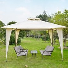 Outsunny 3.5x3.5m Side-Less Outdoor Canopy Tent