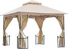Outsunny 3 x 3m Gazebo Outdoor Patio Party Tent
