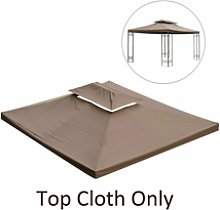 Outsunny 3 X 4 M Gazebo Replacement Canopy Tent