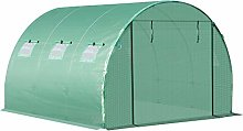 Outsunny 3m x 3m x 2m Greenhouse Replacement Cover