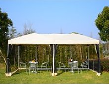 Outsunny 3m x 6 m Garden Pop-Up Canopy Marquee