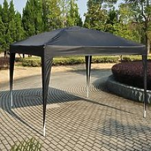 Outsunny 3x3m Pop up Gazebo Marquee-Black Water