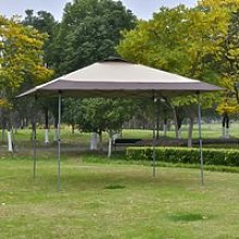 Outsunny 4 x 4m Pop-up Canopy Gazebo Tent with