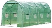Outsunny 4x2 m Polytunnel Walk-in Greenhouse with