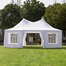 Outsunny 6.8m x 5m Octagonal Party Tent / Wedding