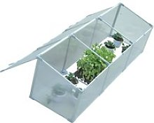 "Outsunny 71"" Aluminum Greenhouse Plants Raised"