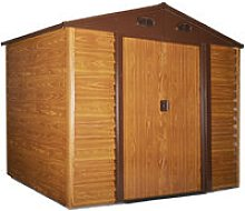 Outsunny 9x6ft Metal Garden Shed House Gardening