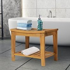 Outsunny Acacia Wood Bathroom Shower Spa Sauna