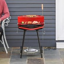 Outsunny Charcoal Barbecue Grill,
