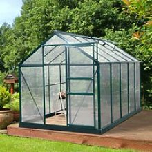 Outsunny Clear Polycarbonate Greenhouse Large