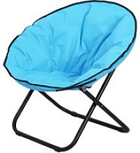 Outsunny Folding Saucer Moon Chair Oversized
