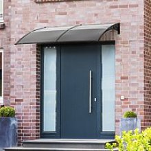 Outsunny Front Door Canopy Awning Outdoor Window