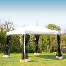 Outsunny Garden Gazebo Pop-Up Party Tent Canopy