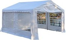 Outsunny Gazebo Marquee Party Tent, Steel Frame,