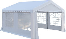 Outsunny Gazebo Marquee Party Tent Wedding