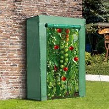Outsunny Greenhouse Steel Frame PE Cover with