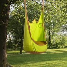 Outsunny Hanging Pod Swing Seat 100% Cotton Child