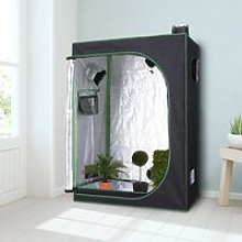 Outsunny Hydroponic Plant Grow Tent Canopy Indoor