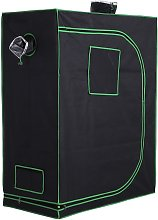 Outsunny Hydroponic Plant Grow Tent Indoor