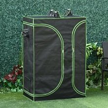 Outsunny Mylar Hydroponic Grow Tent with