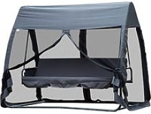 Outsunny Outdoor 3 Persons Swing Chair Lounger Bed