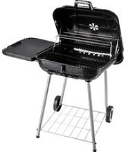 Outsunny Portable Charcoal Steel Grill BBQ Outdoor