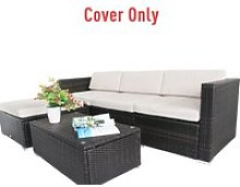 Outsunny Rattan Furniture Cushion Cover
