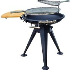 Outsunny Round BBQ Grill W/Cutting Board-Black