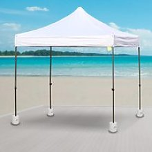 Outsunny Tent Weight Base, 4pcs Plastic Anchor