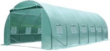 Outsunny Walk-in Greenhouse, 6 x 3 M-Green
