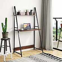 Outwin Computer Desk 2 Tier Ladder PC Laptop Table