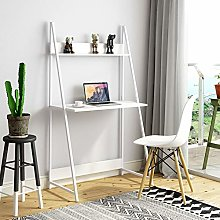 Outwin Computer desk,2 Tier Ladder Table with
