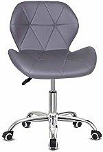 Outwin Desk Chair Swivel Office Chair Blue PU
