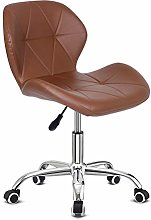 Outwin Desk Chair Swivel Office Chair Brown