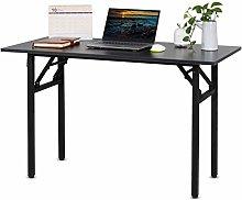 Outwin Folding Computer Desk Simple PC Desk Office