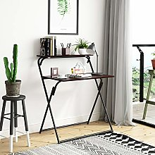 Outwin Folding Computer Desk Writing Table for