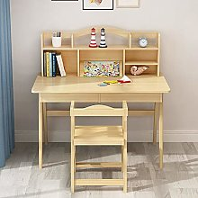 Ouuager-Home Children's Study Desk Chair Set