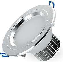 OUUED 7W LED Recessed Ceiling Lights Downlights