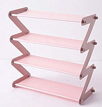 Ouumeis Shoe Rack, Simple Stainless Steel
